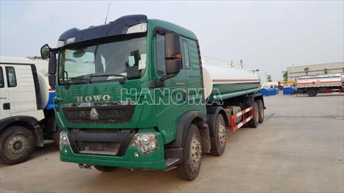 Xe phun nước rửa đường HOWO T5G 17m3