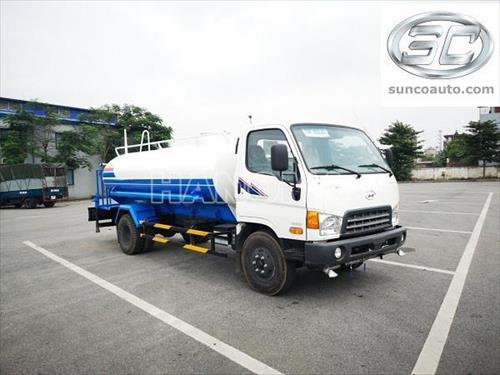 Xe phun nước rửa đường HYUNDAI HD800 7 khối