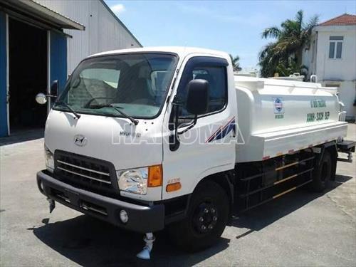 Xe phun nước rửa đường HYUNDAI HD99  6.5 Tấn