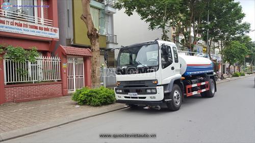 Xe phun nước rửa đường ISUZU CLQ5140TSL3