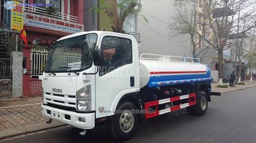 Xe phun nước rửa đường ISUZU CSC5105GPSC4