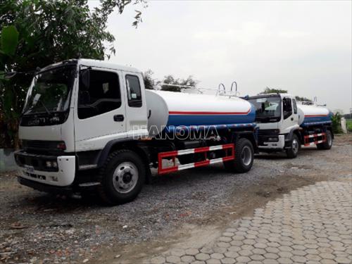 Xe phun nước rửa đường ISUZU QL1140TKFR