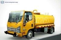 Xe phun nước rửa đường ISUZU QL1140TKFR THÙNG 8M3