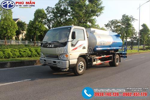 Xe phun nước rửa đường JAC HFC1061K3 2018
