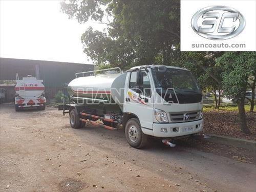 Xe phun nước rửa đường THACO OLLIN 700C 8 khối