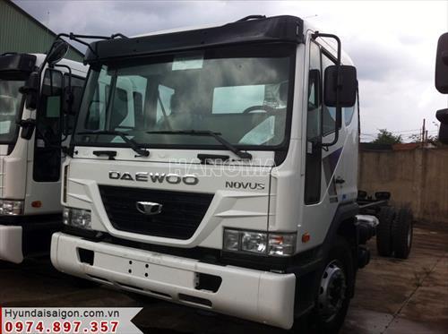 Xe tải DAEWOO NOVUS THÙNG BẠT 8T5