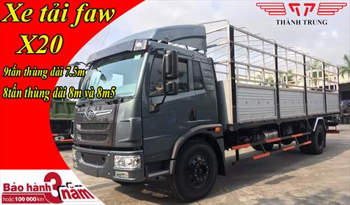 Xe tải FAW 8T