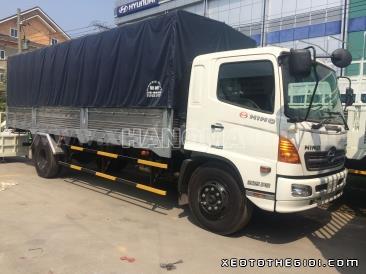 Xe tải HINO FG8JJSB 7,3 Tấn Thùng Mui Bạt