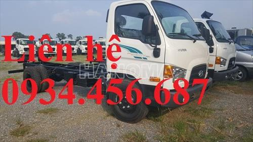 Xe tải 2019 HYUNDAI 110SL thùng 5m7