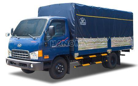 Xe tải HYUNDAI HD98 5,6 Tấn Thùng Mui Bạt