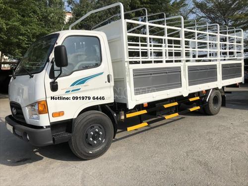 Xe tải HYUNDAI NEW MIGHTY 110SL 7 tấn thùng dài 7 bửng