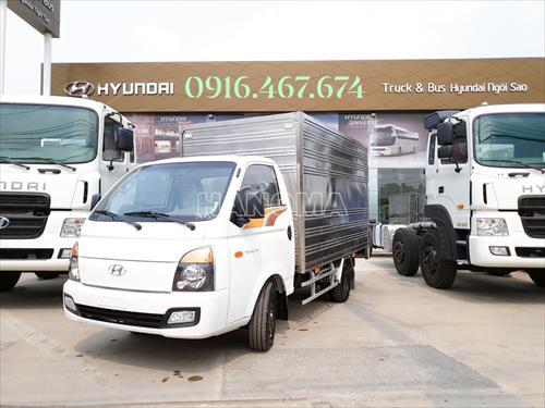 Xe tải 2019 HYUNDAI NEW PORTER H150 Thùng Kín 3m1 xe sẵn giao ngay