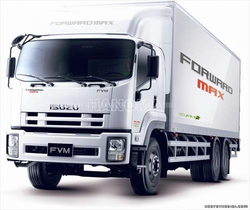 Xe tải ISUZU FVM34T (6x2) 15,6 Tấn Thùng Kín