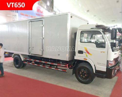 Xe tải VEAM VT650 THÙNG KÍN 6T5