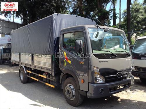 Xe tải VEAM VT651 THÙNG BẠT 6T5