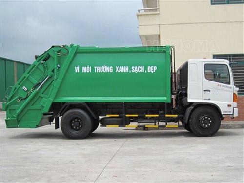 Xe thu gom rác 2020 HINO FC9JETA
