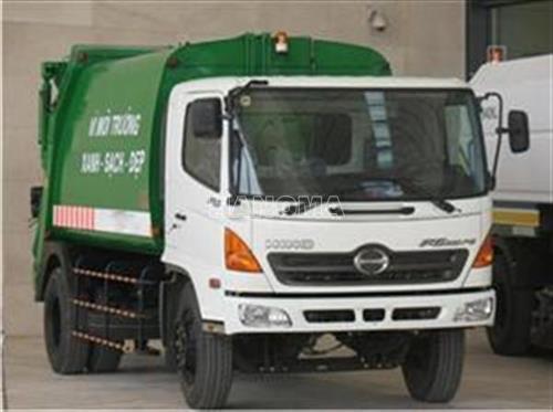 Xe thu gom rác HINO FG8JJSB.CER14-V4 2014