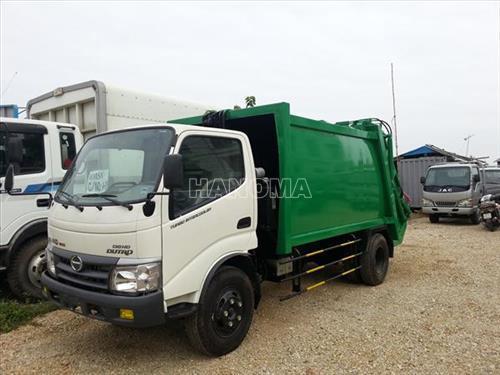 Xe thu gom rác HINO WU342L-HKMRHD3 2013