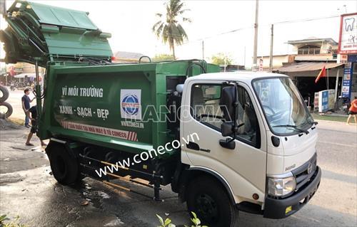 Xe thu gom rác HINO XZU342L-HKMTKD3/CONECO-ER  6 Khối