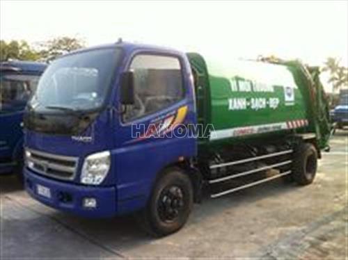 Xe thu gom rác THACO OLLIN450