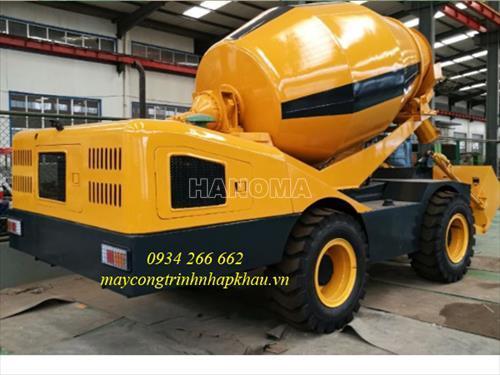 Xe trộn bê tông HANK HK4000 2018