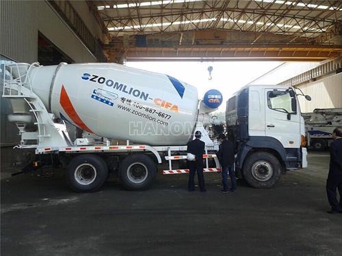Xe trộn bê tông HINO ZLJ5256GJBGH 2011
