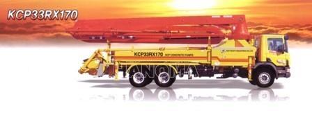 Xe trộn bê tông KCP 33RX170