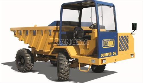 Xe trộn bê tông LIUGONG CARMIX DUMPER D6