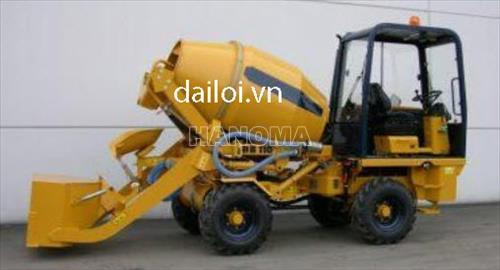 Xe trộn bê tông PERKINS DB110 25kW