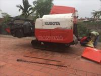Máy gặt đập liên hợp KUBOTA DC70