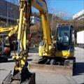 Máy xúc đào Mini KOMATSU PC78MR S4D95-LE3