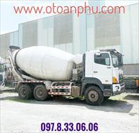 Xe trộn bê tông 2014 HINO 700