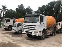 Xe trộn bê tông 2015 HOWO 340 Bồn XCMG 12m3