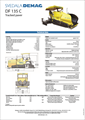 Máy rải thảm DEMAG DF135C 750 tấn/h
