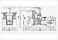 Xe lu tĩnh SAKAI R2H-2K 3 Bánh Thép